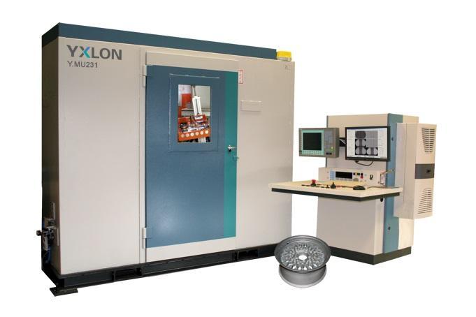 YXLON MU231 - Industrielles Röntgensystem für die Gussteilprüfung
