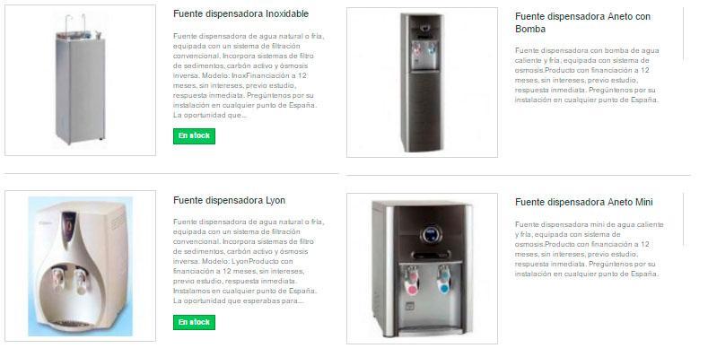 Dispensador de Agua - Fuentes Dispensadoras de Agua