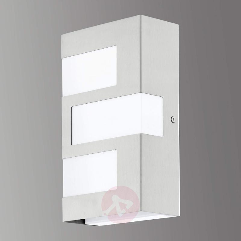 Ralora - Stainless outdoor wall light with LEDs - outdoor-led-lights