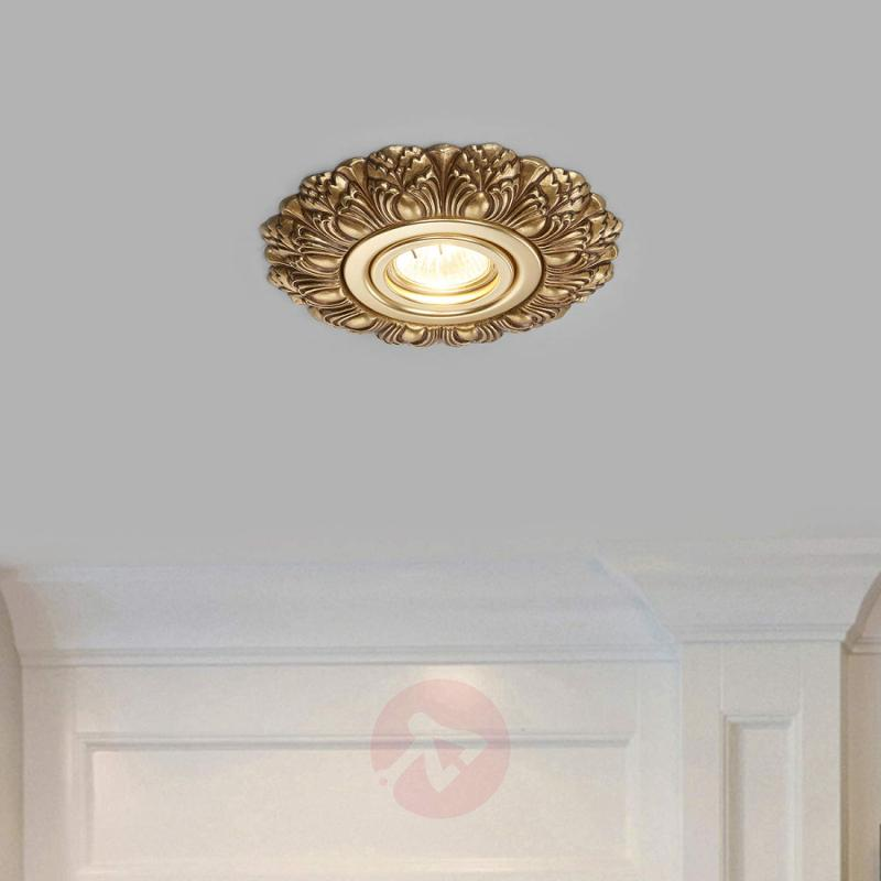 Decorated LED recessed light Eva - design-hotel-lighting