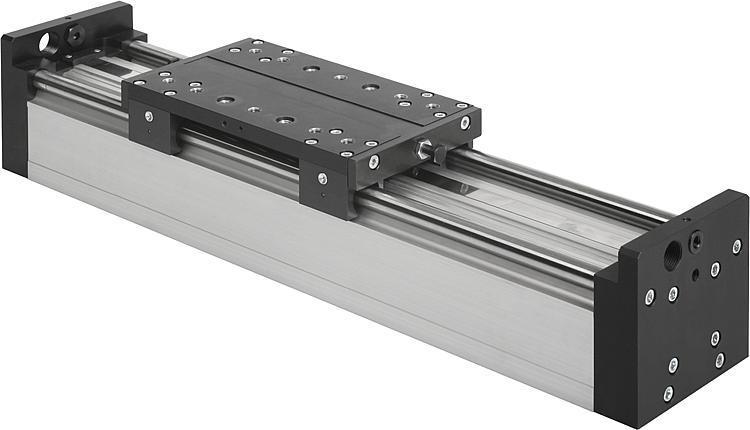 Module portique pneumatique à guidage cylindrique - Modules linéaires et portiques pneumatiques