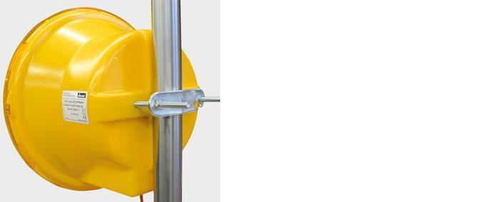 Matériels spécifiques - Fixation sur tube jusqu'à 82mm diam - null