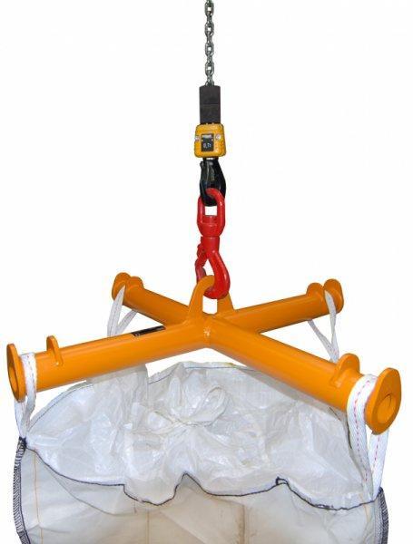 BIG-BAG Traversen Typ TBB - Lasttraversen für den Transport von BIG-BAGs mit Gabelstapler oder Kran