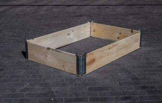 Pallet collars - Pallet collars for EPAL EURO pallets, custom size pallet collars
