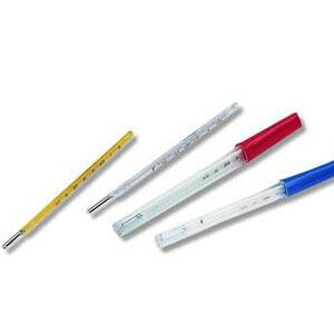 glass clinic thermometer - null