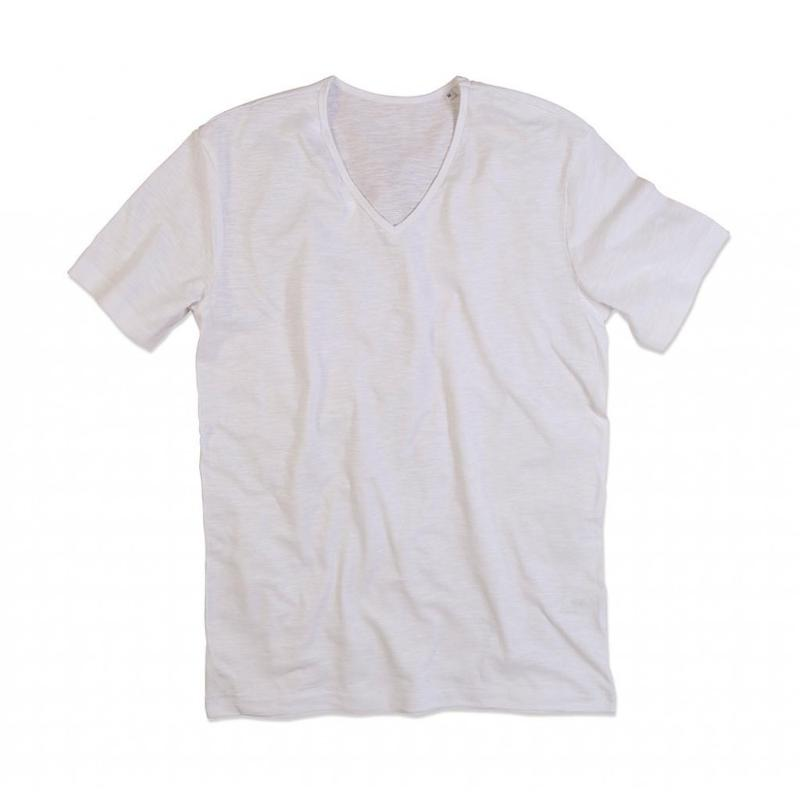 Tee-shirt col V homme Shawn - Manches courtes