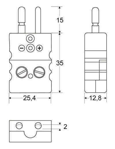 Connector plug Standard | Jab-in (CSPQ) - Connector Standard