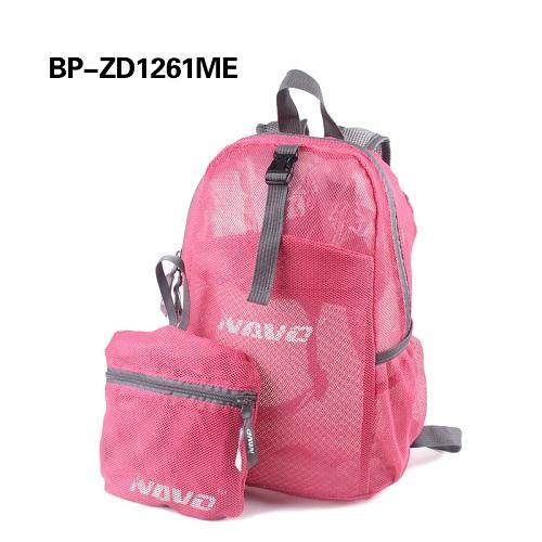 New style double fabric mesh backpack - Printed polyester Breathable Backpack
