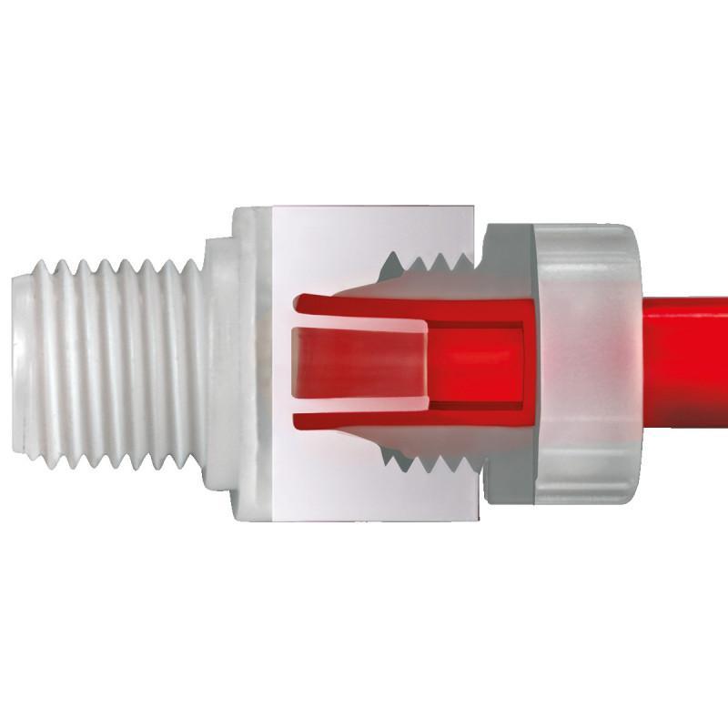 Principe de raccordement 1+ - Montage multiple, Étanchéité et sécurité absolues sans outil, PN16