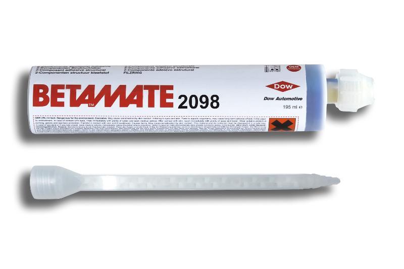 Betamate 2098   195 ml Single-Kartusche mit ZMS - BM-2098-195
