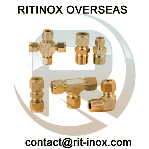 Cu 70/30 Tube to Male Fittings -