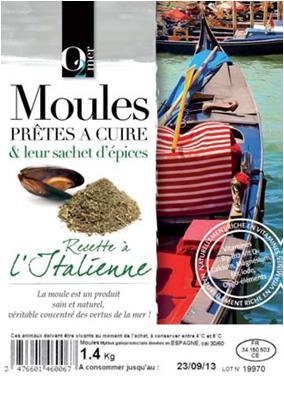 Moules Prêtes à Cuire & Leur Sachet D'épices... - Produits de la mer