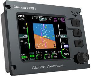 Glance-EFIS 105 - Un EFIS compacte et robuste : Glance-EFIS GE-105