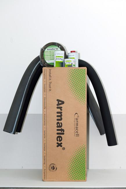 Coquilles en caoutchouc synthétique ARMAFLEX - null