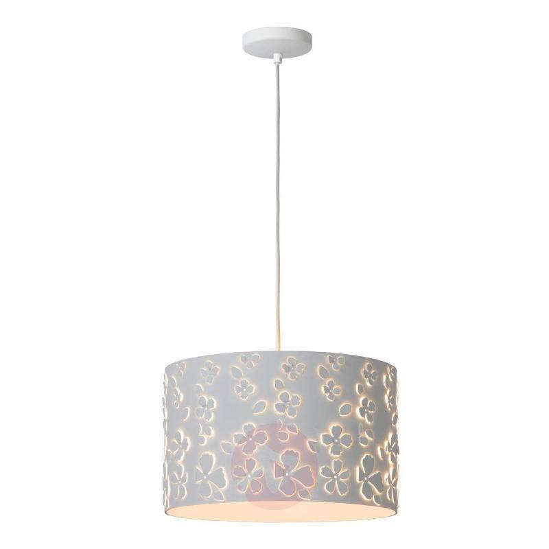Marguerite - floral hanging light 38 cm - Pendant Lighting
