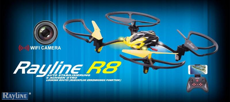 RC Ware anderer Hersteller RC Quadrocopter - R8
