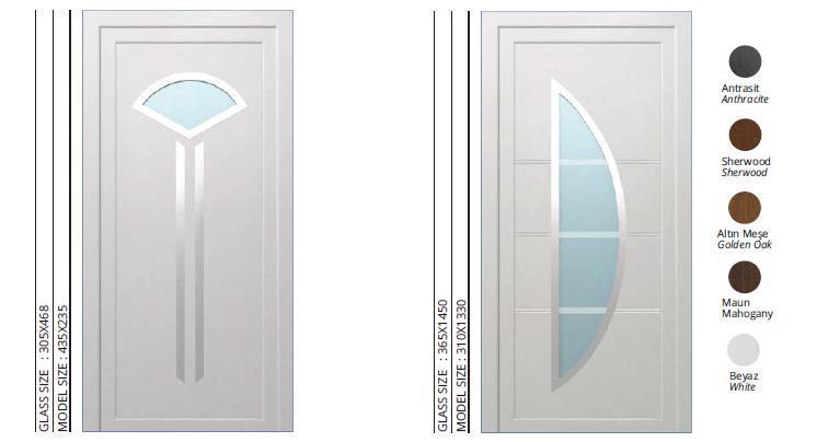 PVC DOORS, LAMINATED - LAMİNATED PVC DOORS