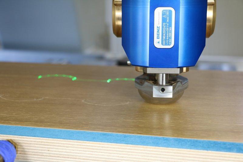 Cutting unit SECO - CNC unit for machining of wood, composites and aluminium