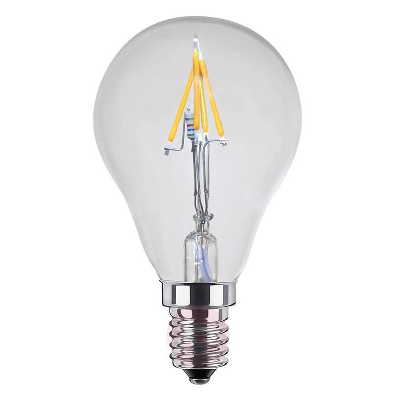 E14 2.7 W LED golf ball bulb, ambient dimming - light-bulbs