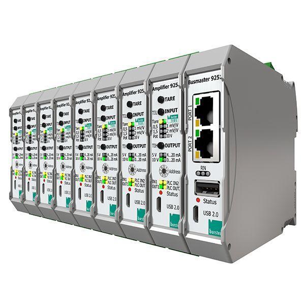 信号放大器9250和总线控制器9251 - 未来的自动化世界提出了诸如网络,速度,准确性,集成性和成本效益等挑战。   出色的系统,最多8个模块+总线控制器