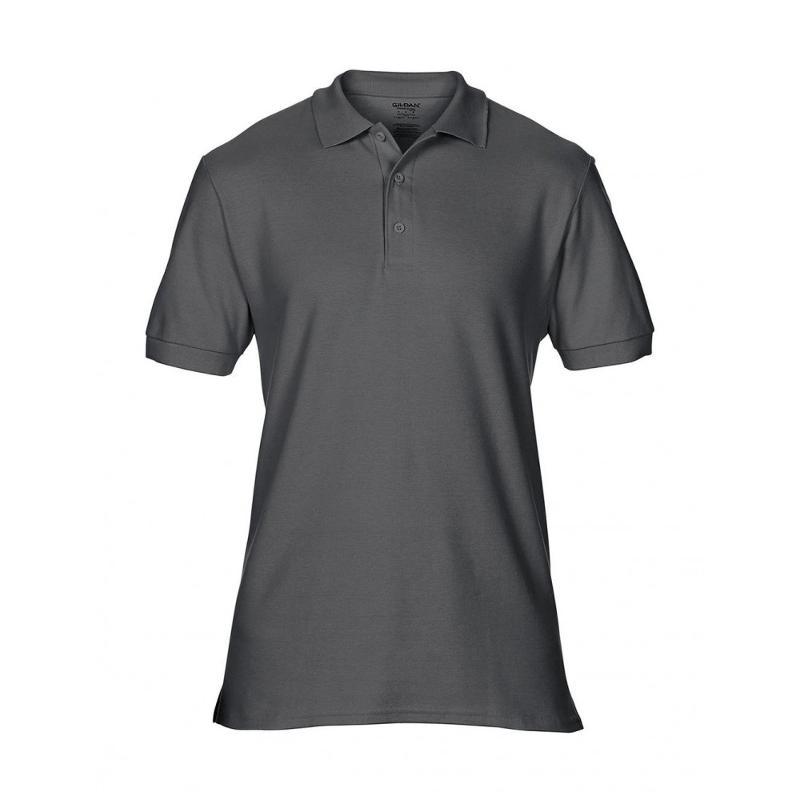 Polo double piqué Premium Cotton - Manches courtes