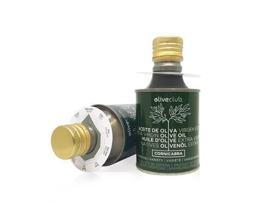 Aceite De Oliva Virgen Extra Oliveclub Cornicabra Lata 250 M - Aceite de oliva primera prensa, extracción en frío
