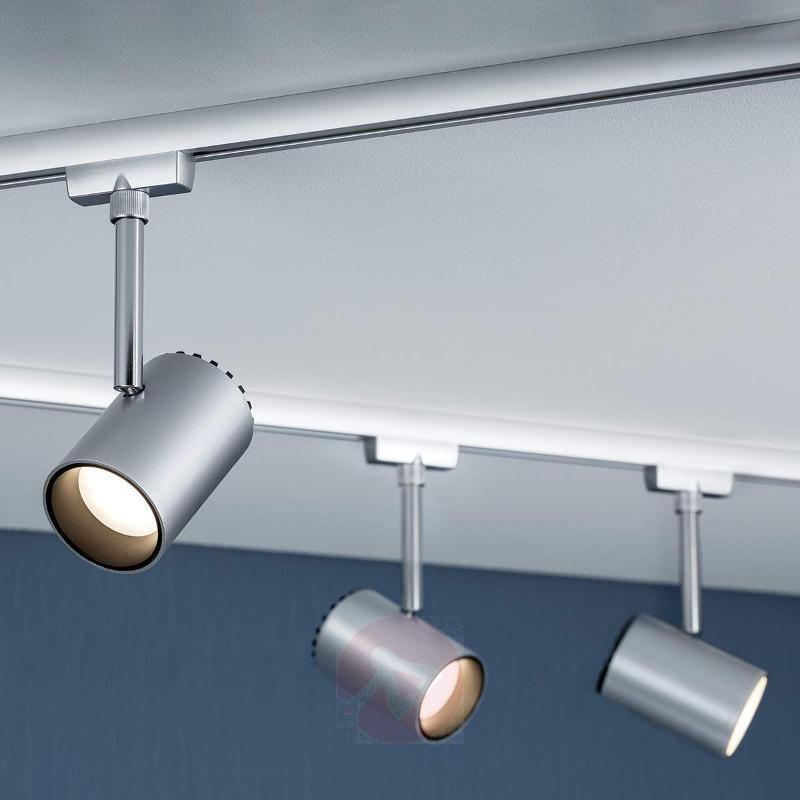Shine LED spotlight for U-Rail track system chrome - U-Rail