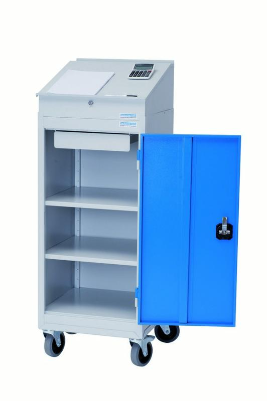 Cabinet with hinged doors type 105 with roller support... - 04.105K125