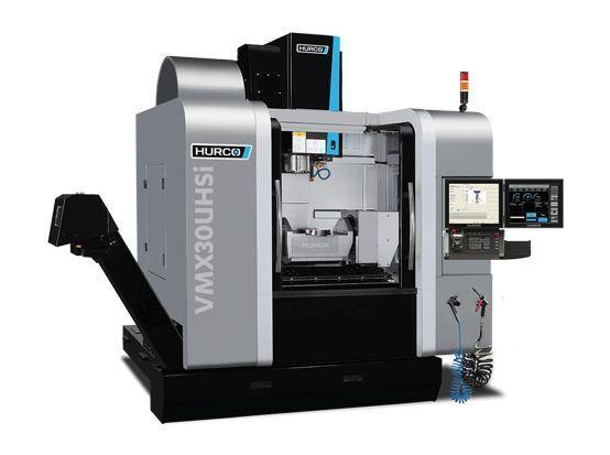 5-Achs-BAZ mit integriertem Dreh-Schwenktisch - VMX 30 UHSi - Konkurrenzlos leistungsstark und schnell-für die Bearbeitung mittelgroßer Teile.