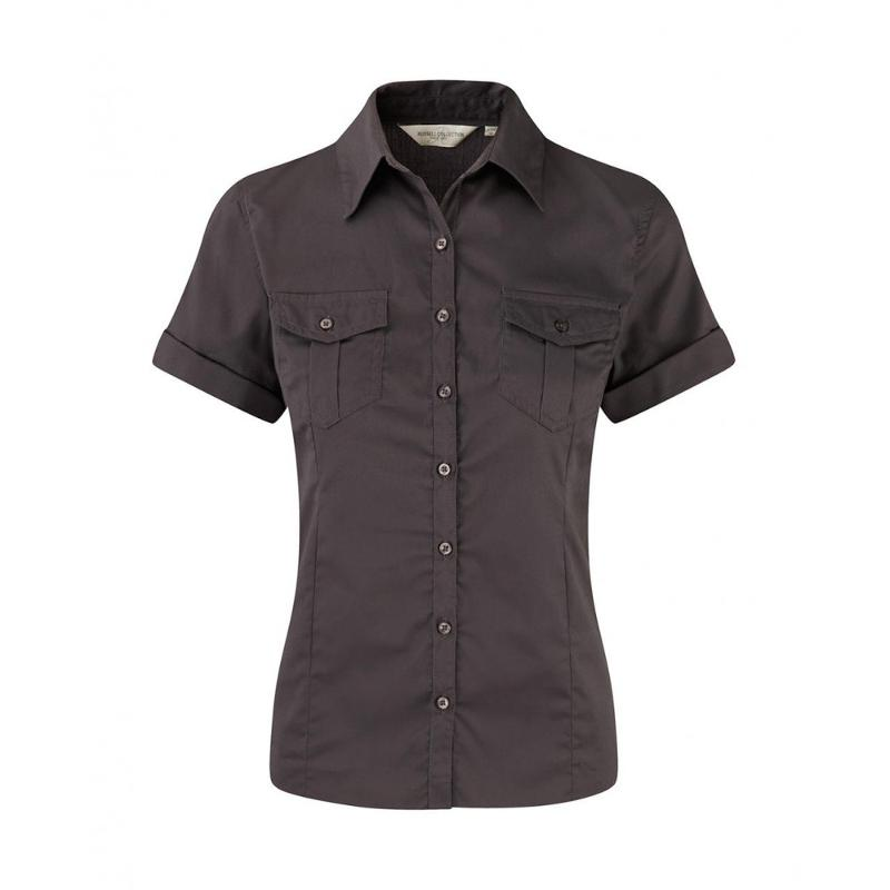 Chemise manches courtes femme - Femme