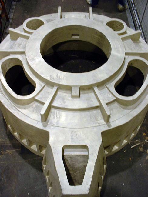 Couvercle de POD - Elements de Propulsion en Cupro Aluminium