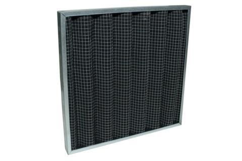 Filtro de carvão em manta/Actived Carbon Filter Media - Filtragem de gases e odores