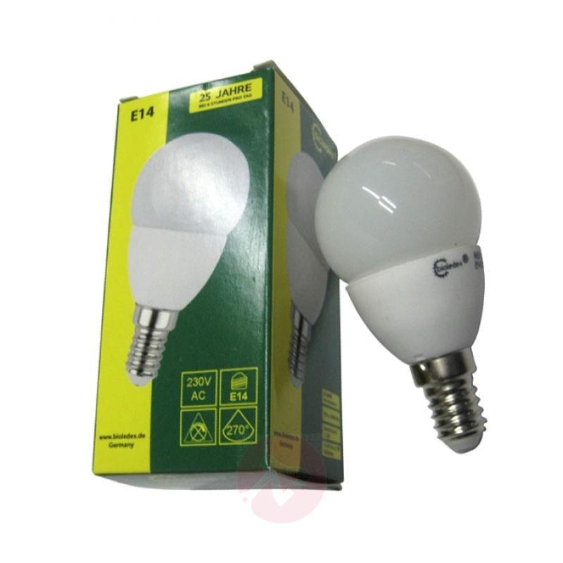 E14 3W LED light bulb Tema in tear form - light-bulbs