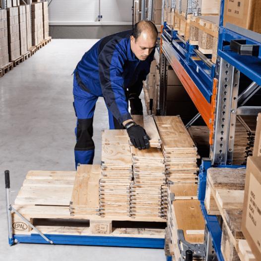 Standard floor mounted pull-out units - Load capacity:800 kg | 1000 kg | 1200 kg