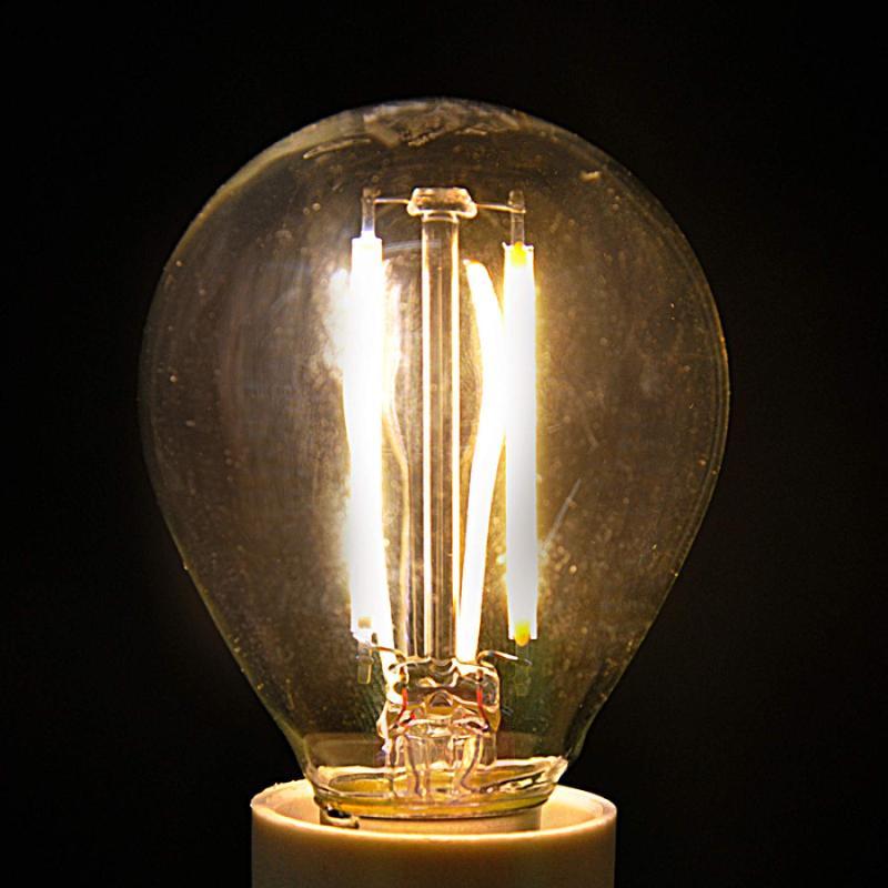 E14 2.4 W 827 LED filament golf ball bulb - light-bulbs