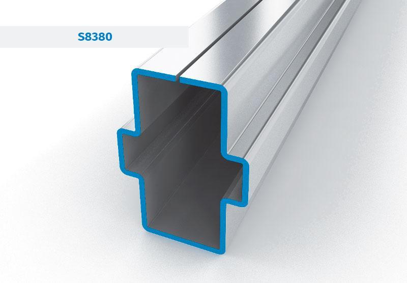 Fensterverstärkungen für alle Kunststoffsysteme - Profilsysteme für Kunststoff-Fenster und -Türen, Wärmedämmprofil, Sandwich-Profi