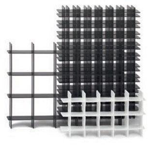 Gitterfacheinsätze - Hohlkammerplatte (HKP)