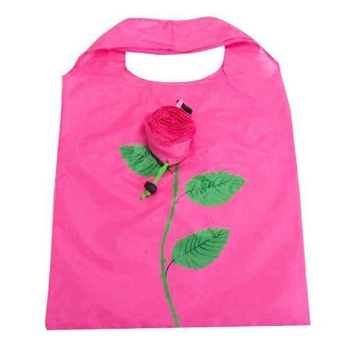 Цветочный складной мешок - полноцветная печать