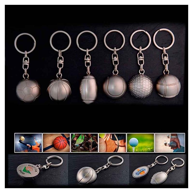 Porte-clés sport - Porte-clés métal