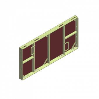 e-deck élément pour dalle 120 cm - Coffrage de dalle