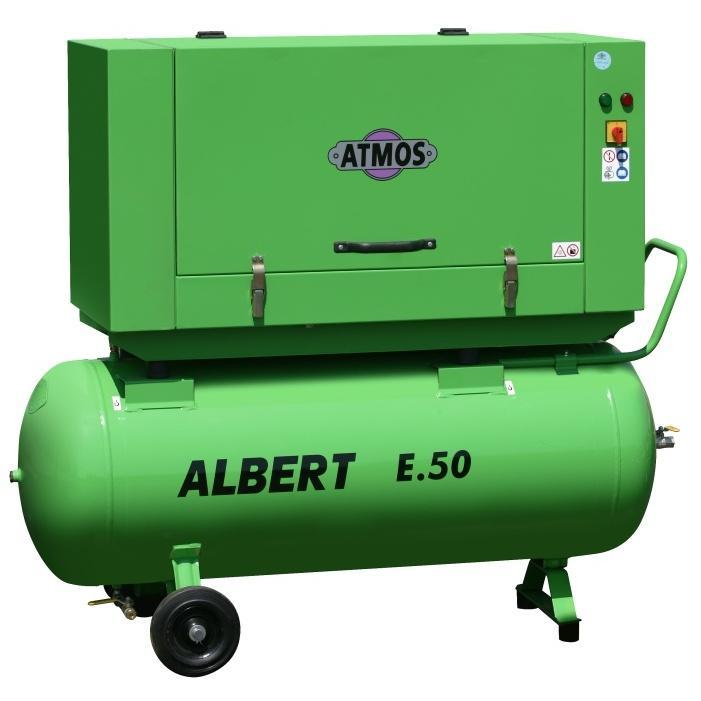 Винтовой компрессор Atmos Albert E 50-10 с ресивером -