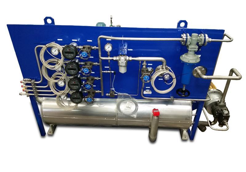 Centrales de lubrification - Banc de test de roulements : Centrale haute température