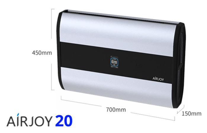 AIRJOY 20 - Purificador de ar e esterilizador