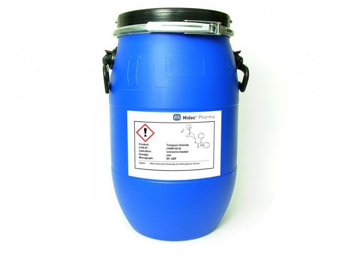 Trospiumchlorid - Trospiumchlorid; Wirkstoff; EP, USP; [10405-02-4]