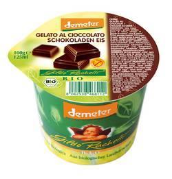 Crème glacée chocolat - Glace individuelle biologique