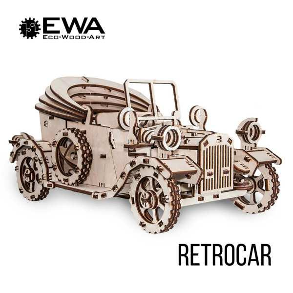 Ретромобиль - Конструктор модели автомобиля 1924года