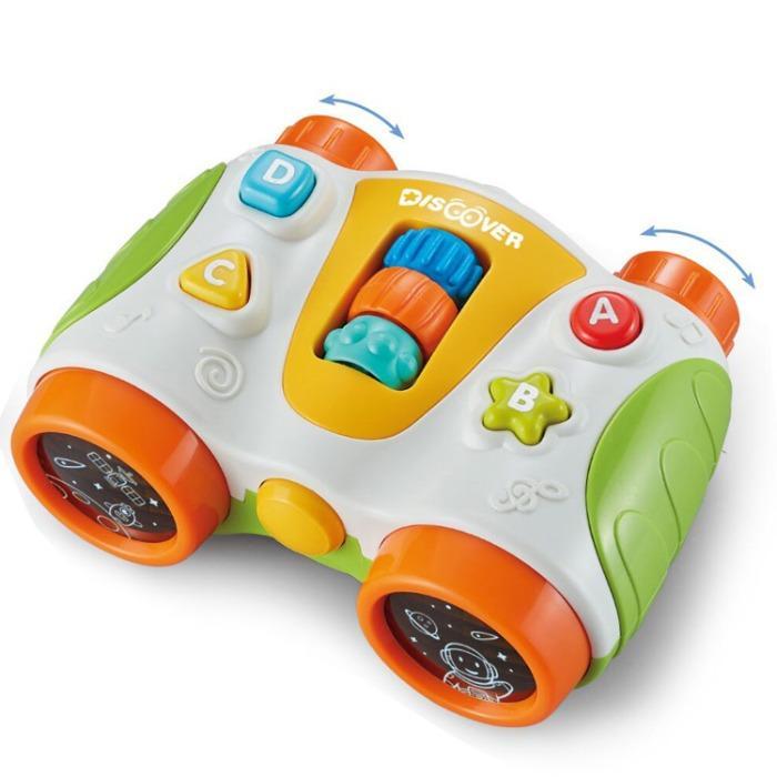 Educational Model Cartoon Lovely Toy  Babies Light Musical - Educational Toys