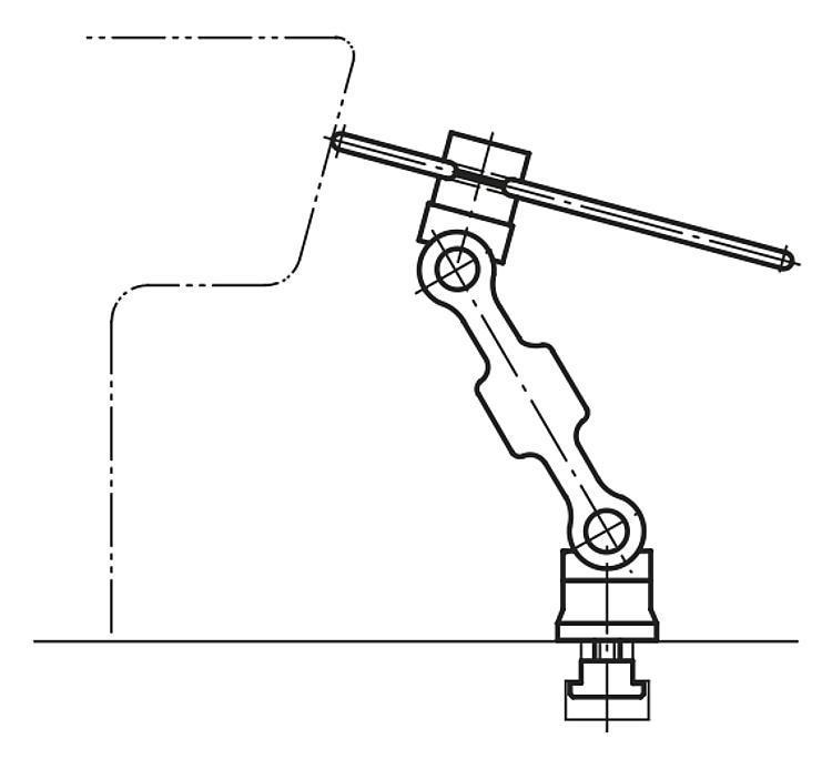 Butée orientable 5D - Butées