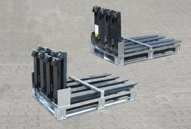 Palettes pour fourches type GZP - Stockage et manutention en toute