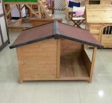 Small sized wooden dog cage - Wooden material